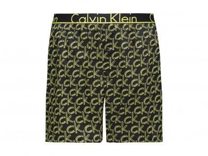 Calvin Klein pánské trenýrky z popelínu - limitovaná kolekce - skinny jeans Boxer (CK NU8653A 1VK)
