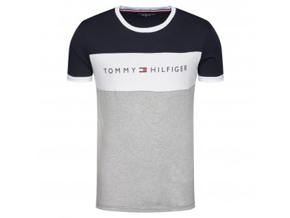 tommy hilfiger t shirt logo flag um0um01170 barevna regular fit 1