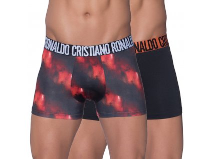 Sportovní boxerky 2pack značky CR7 limitované kolekce dlouhá nohavička 8502-49-409