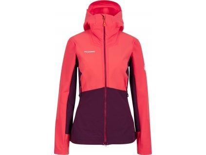 Aenergy Pro SO Hooded Women s Jacket mu 1011 00740 3689 am