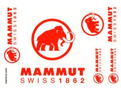 Mammut Sticker Set A5 mu 6020 00374 9999 am