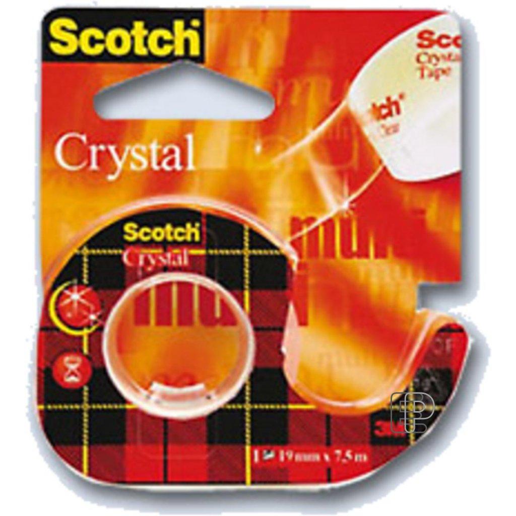 3M Páska Crystal Clear 19/7.5m 6-1975