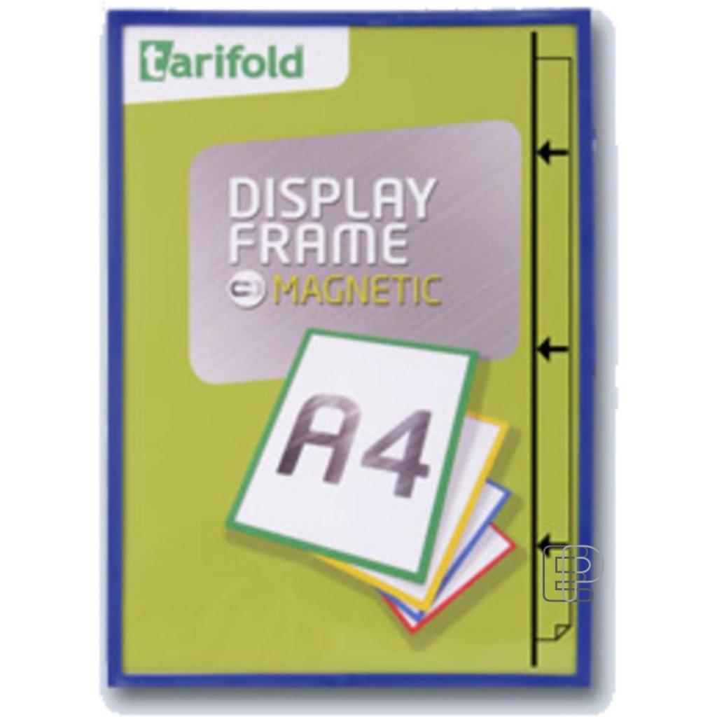 Tarifold rámeček magnetický A4 modrý