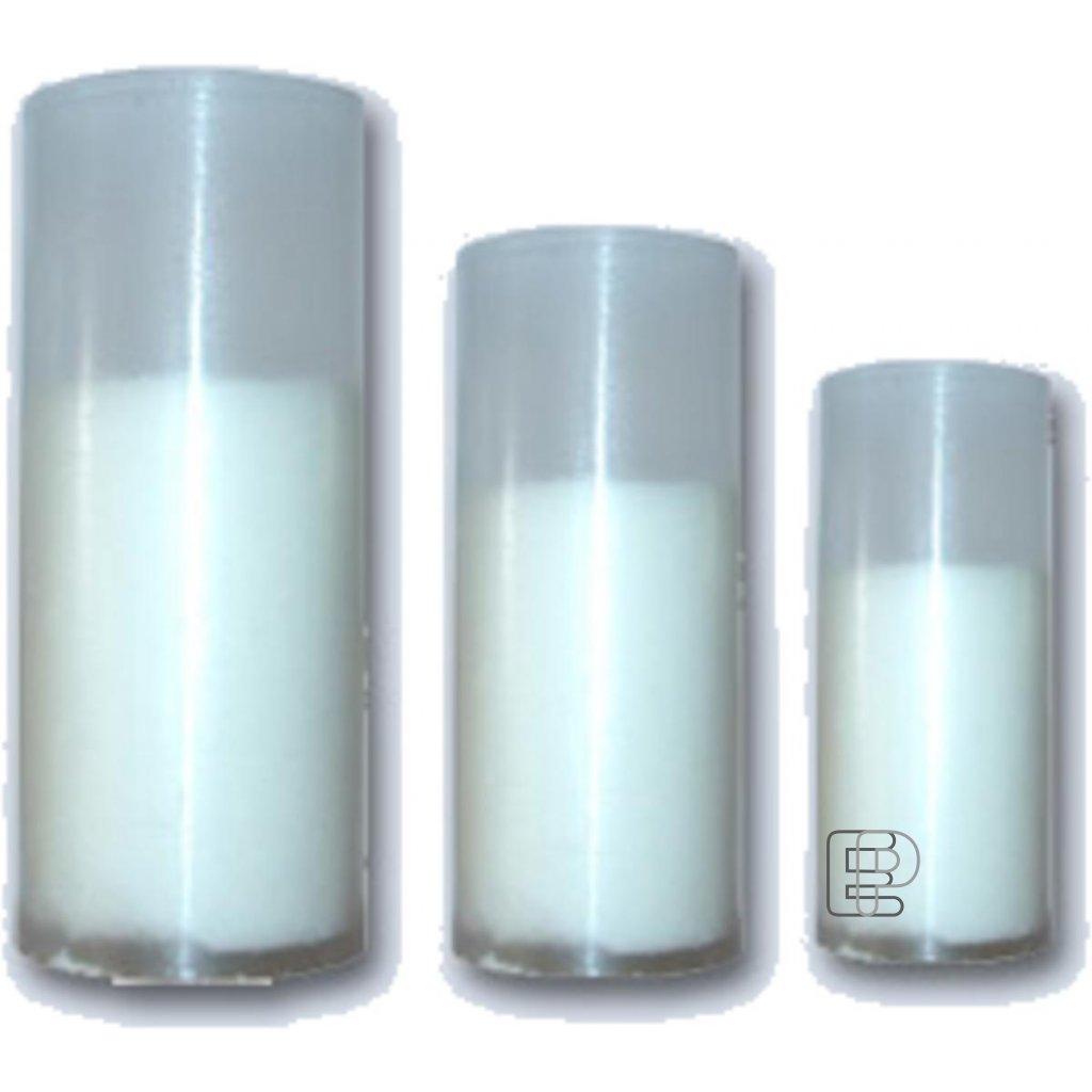 Svíčka náhradní náplň výška 90mm pr.45mm