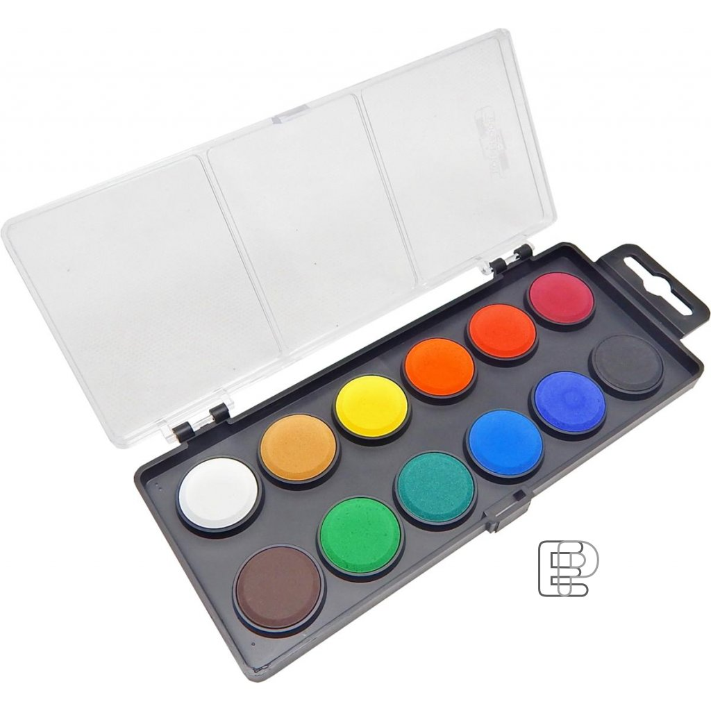 Vodovky 22.5 obdélníkový barevník černý