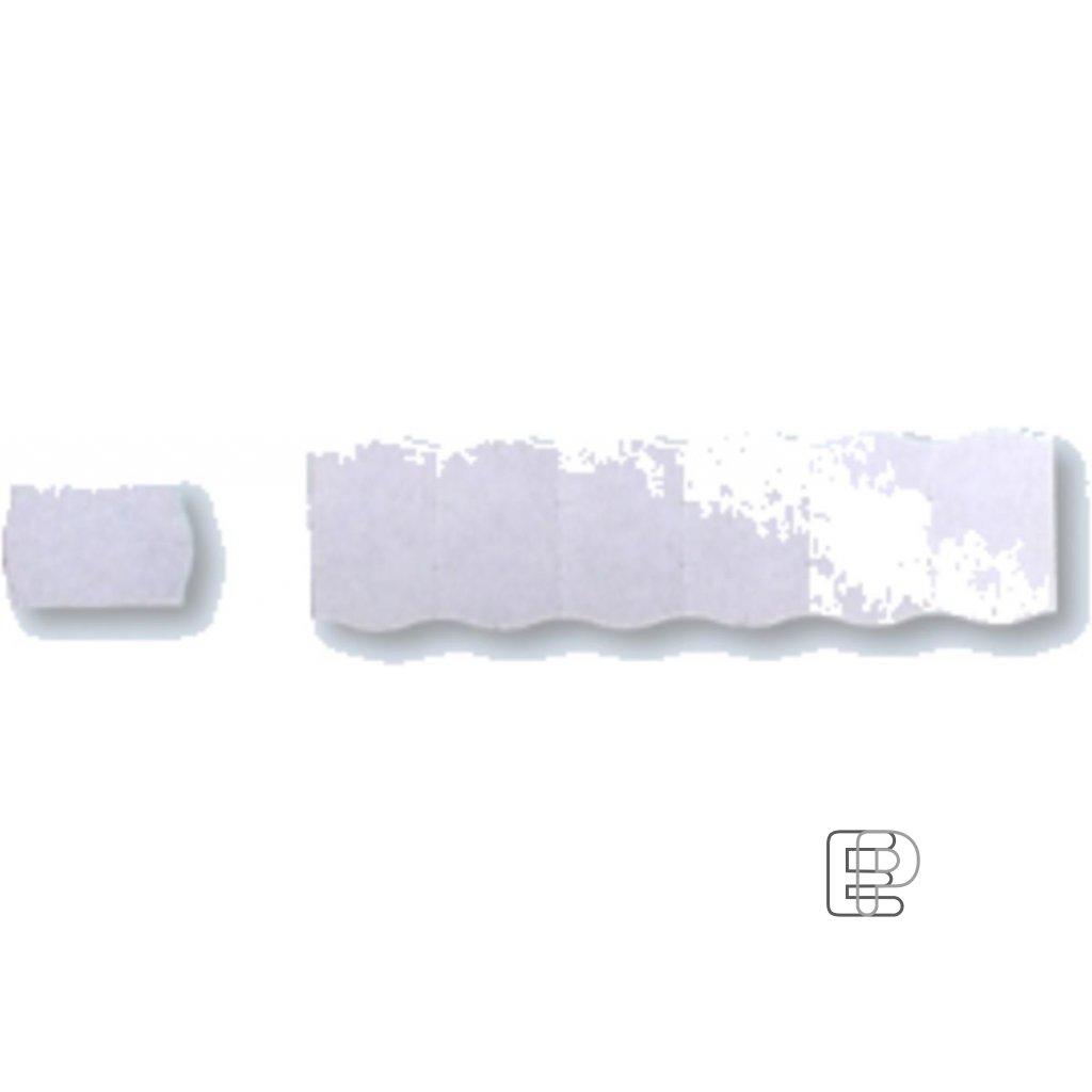 SLE Contact 25x16 bílé oblé 1100 etiket