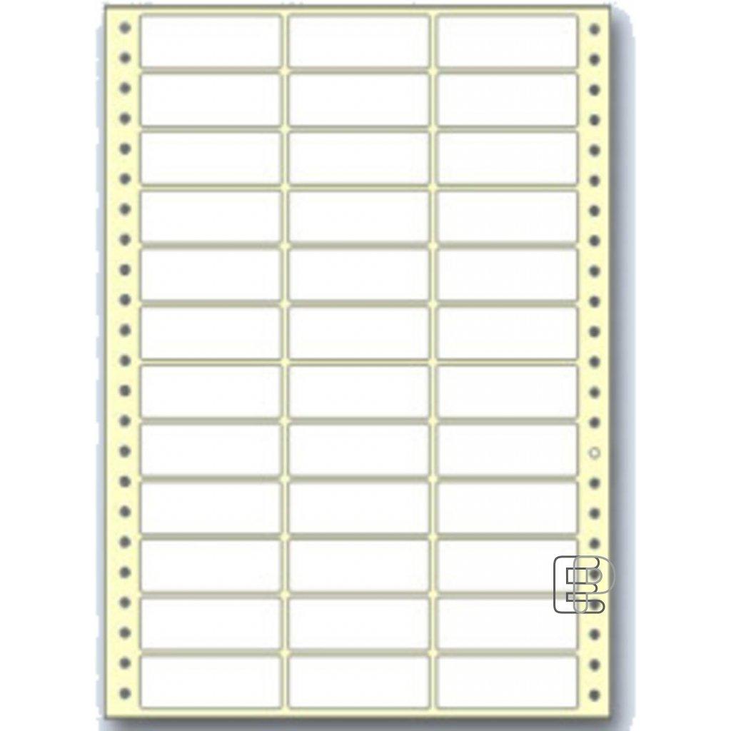 SLE 70x36 3-řadé 12000 etiket