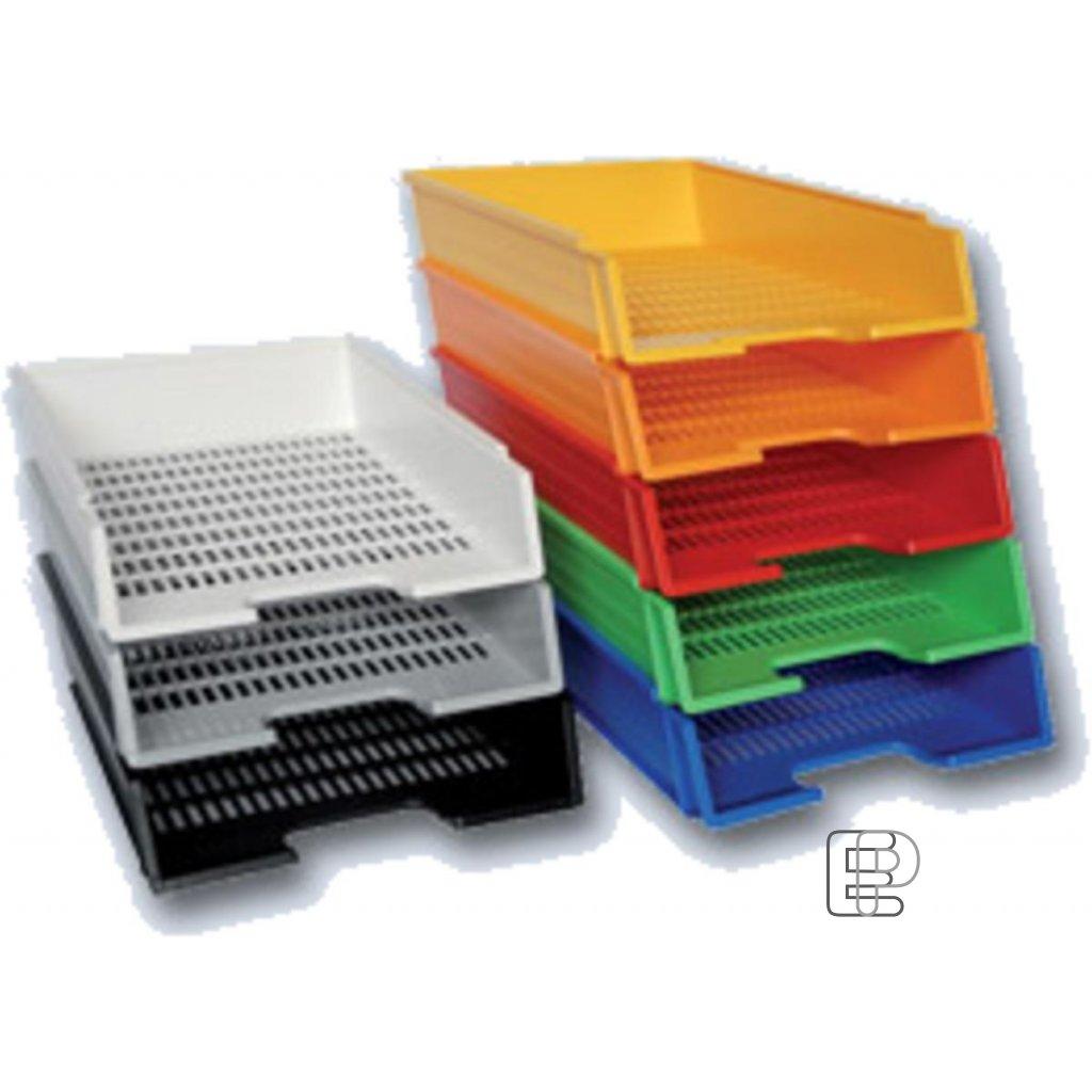 Kancelářský box plastový oranžový 1200