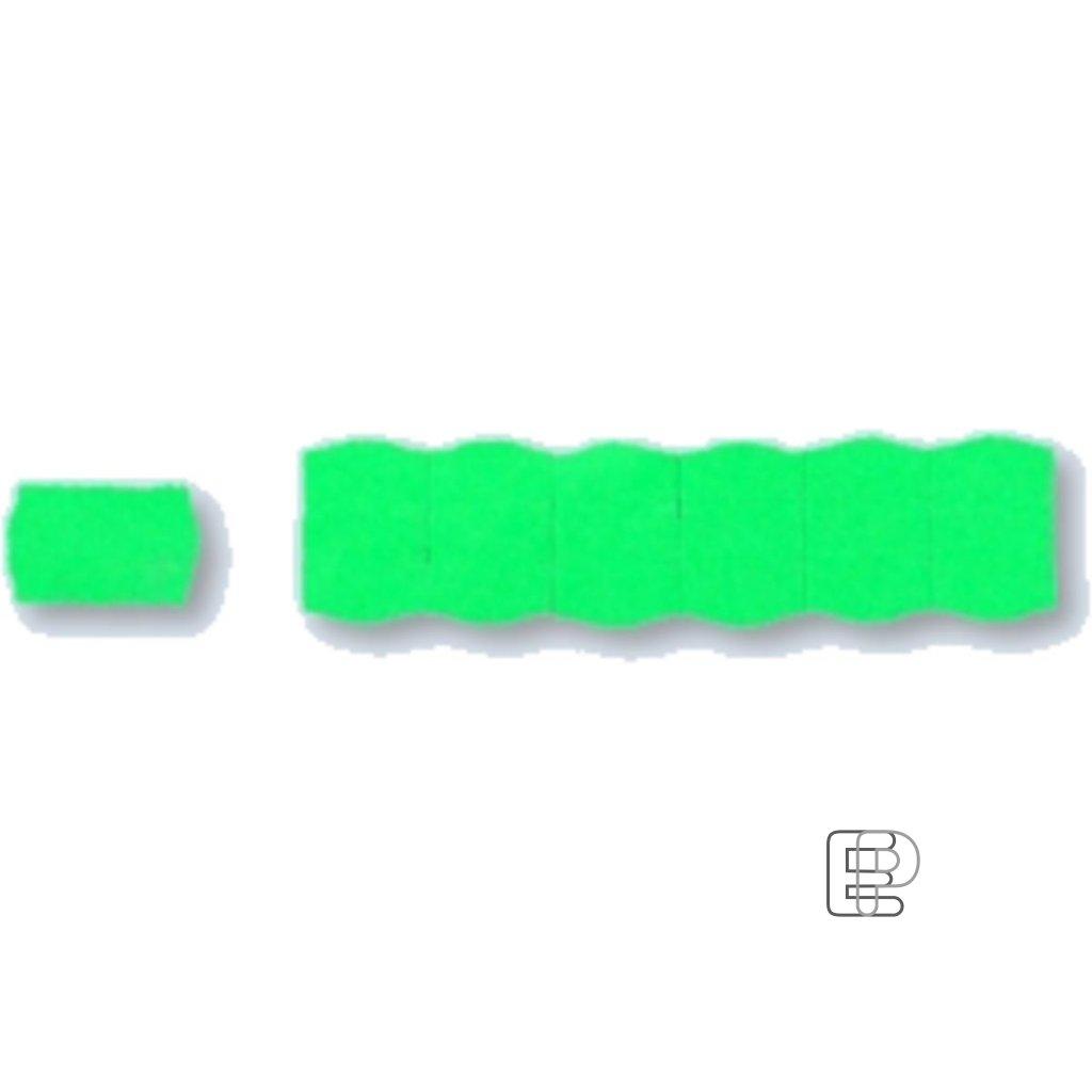 SLE Contact 25x16 zelené oblé 1125et