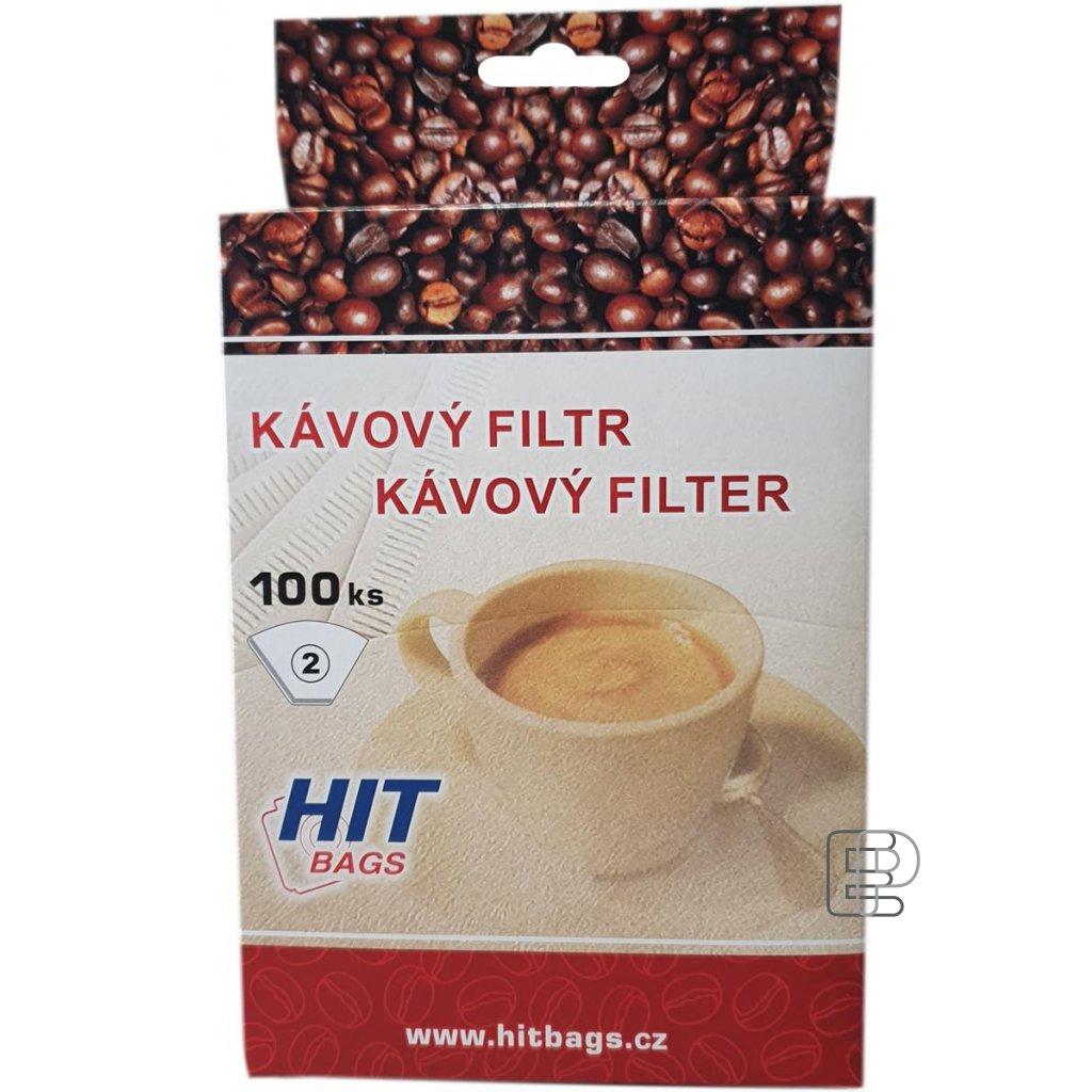 Kávový filtr 2 100ks 16153
