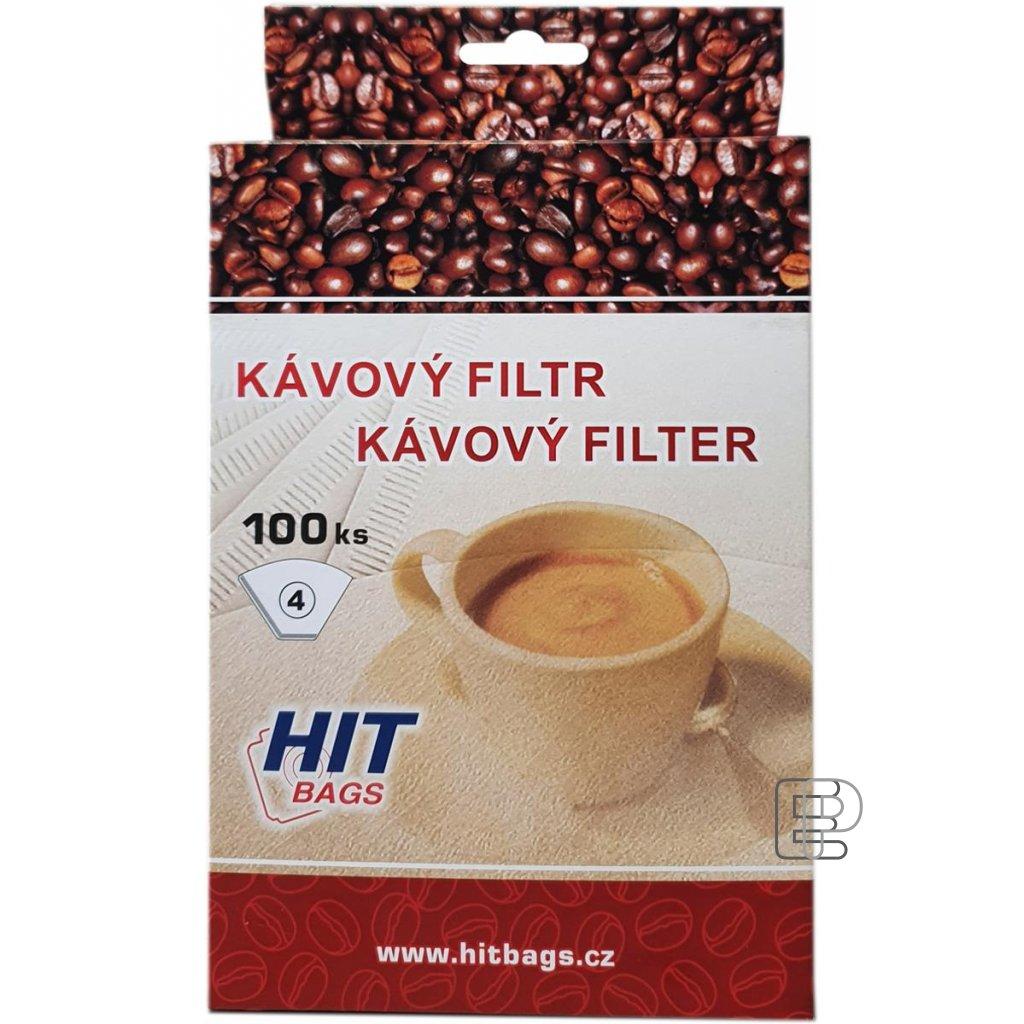 Kávový filtr 4 100ks 16154