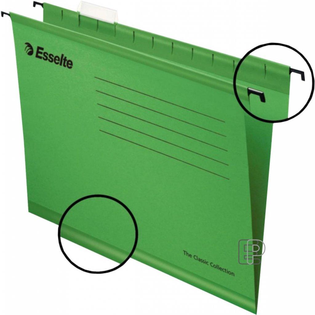 Kapsa závěsná Pendaflex zelená 90318