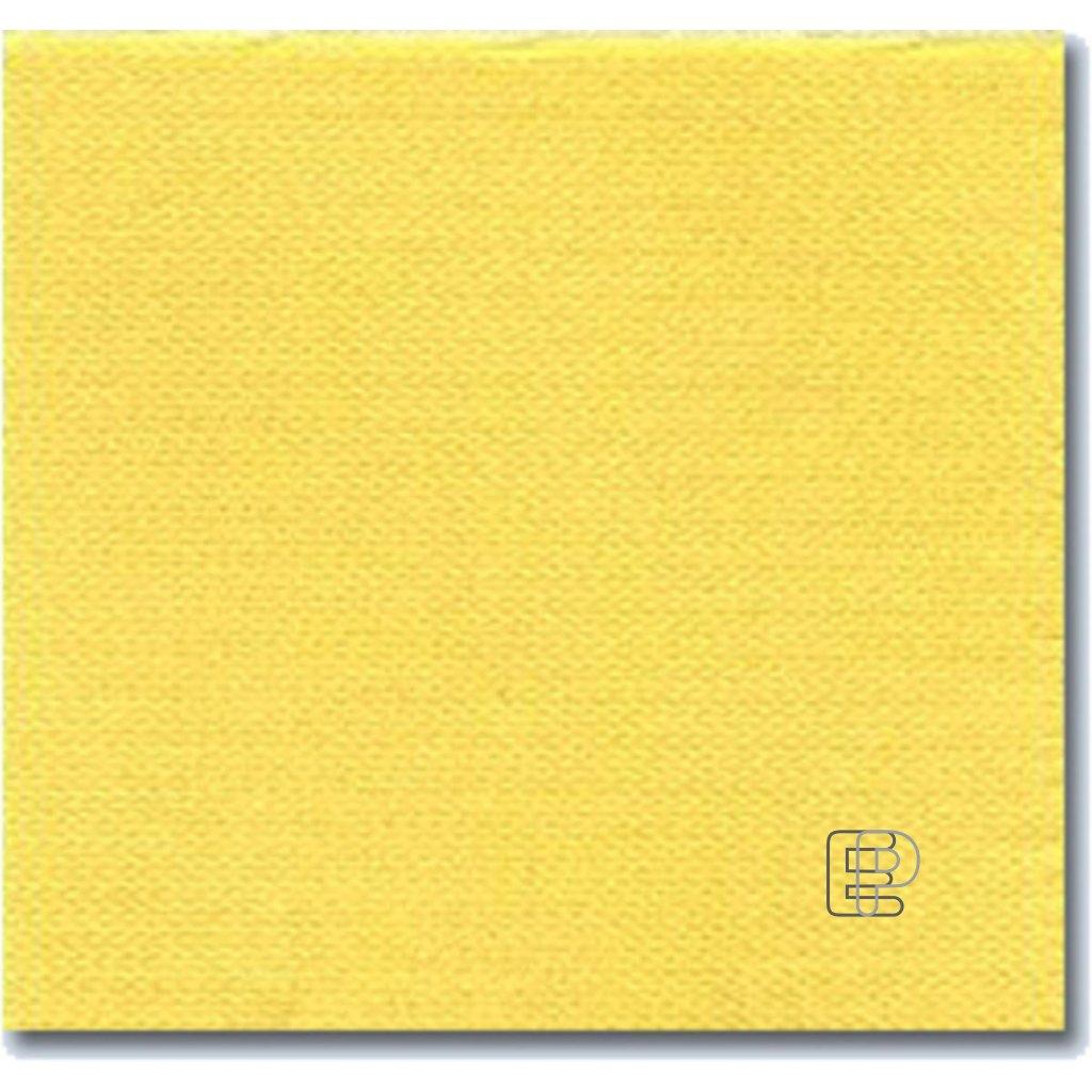 Ubrousky 33x33 2-vr.žluté 50ks 86505