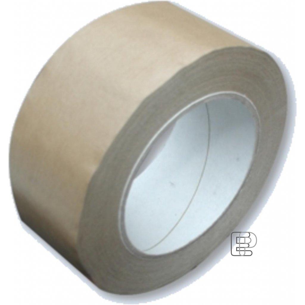 Lepící páska 50/50m hnědá papírová