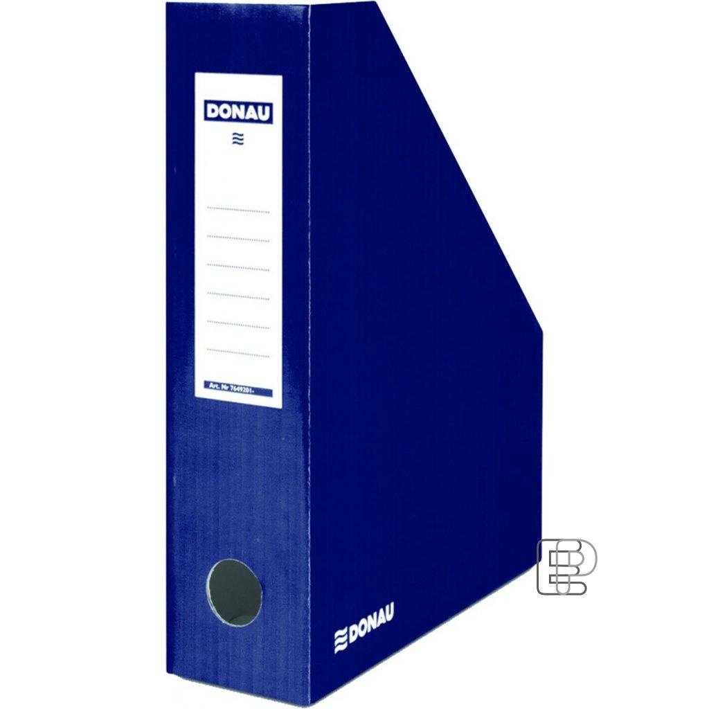 Archivní box zkosený tmavě modrý 8cm