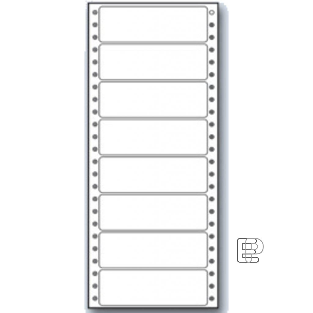 SLE 100x36. 1 1-řadé 4000 etiket