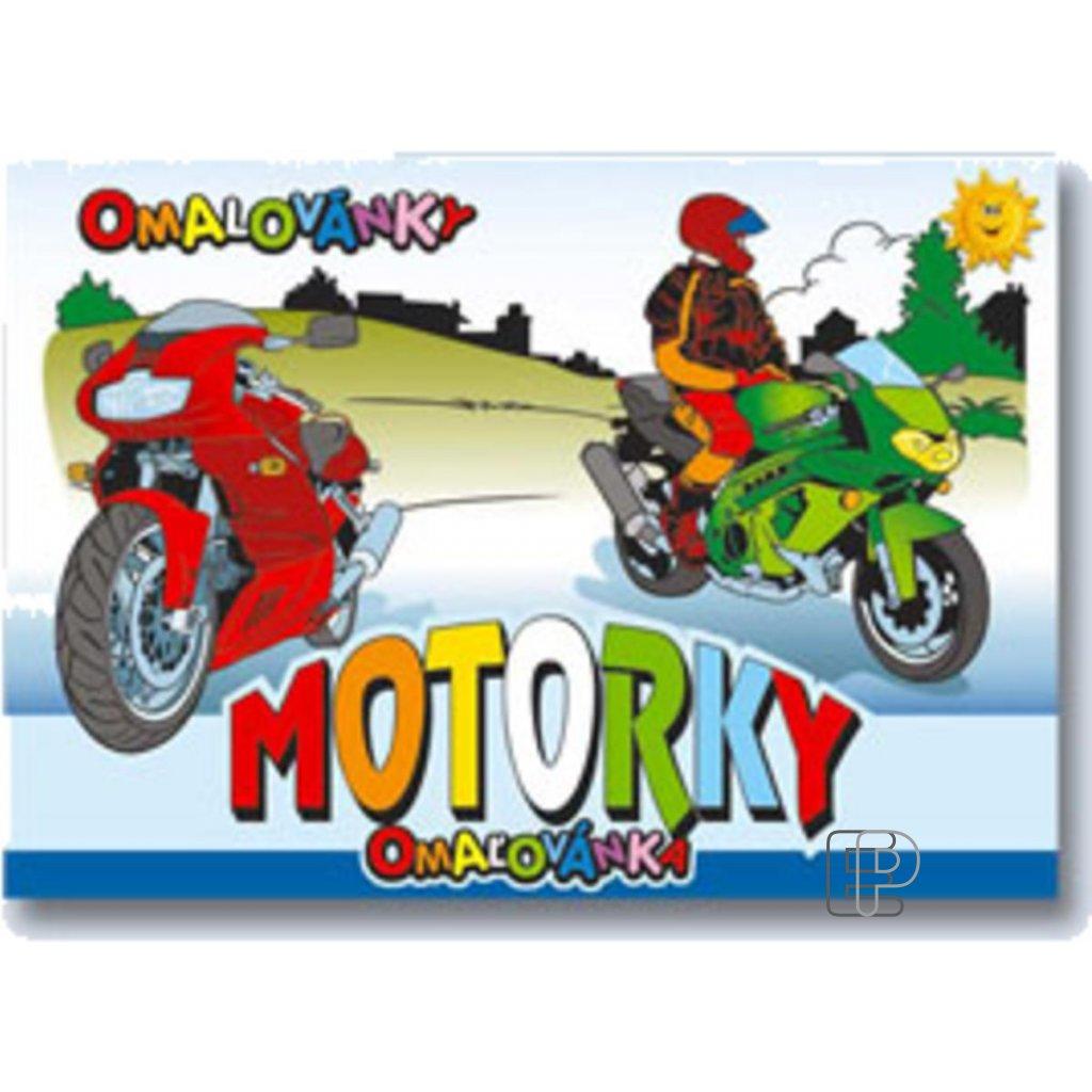 Omalovánky A5 Motorky  5300268