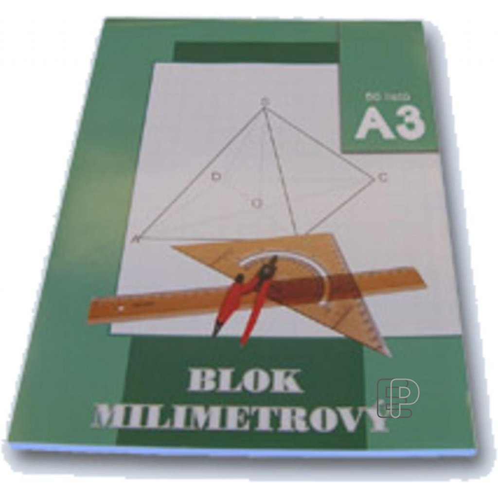 Blok A3 milimetrový papír 50l