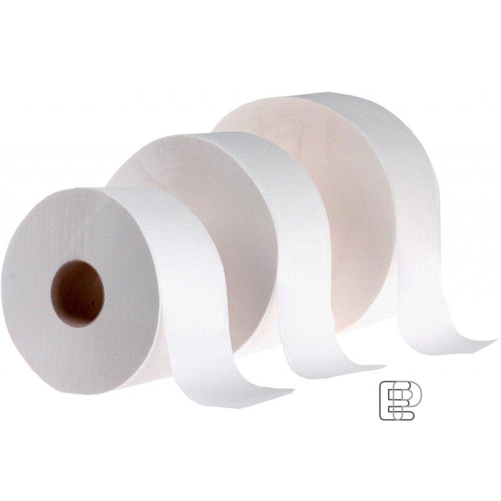 Toaletní papír Gigant 240 2-vrst. bílý balení 6ks