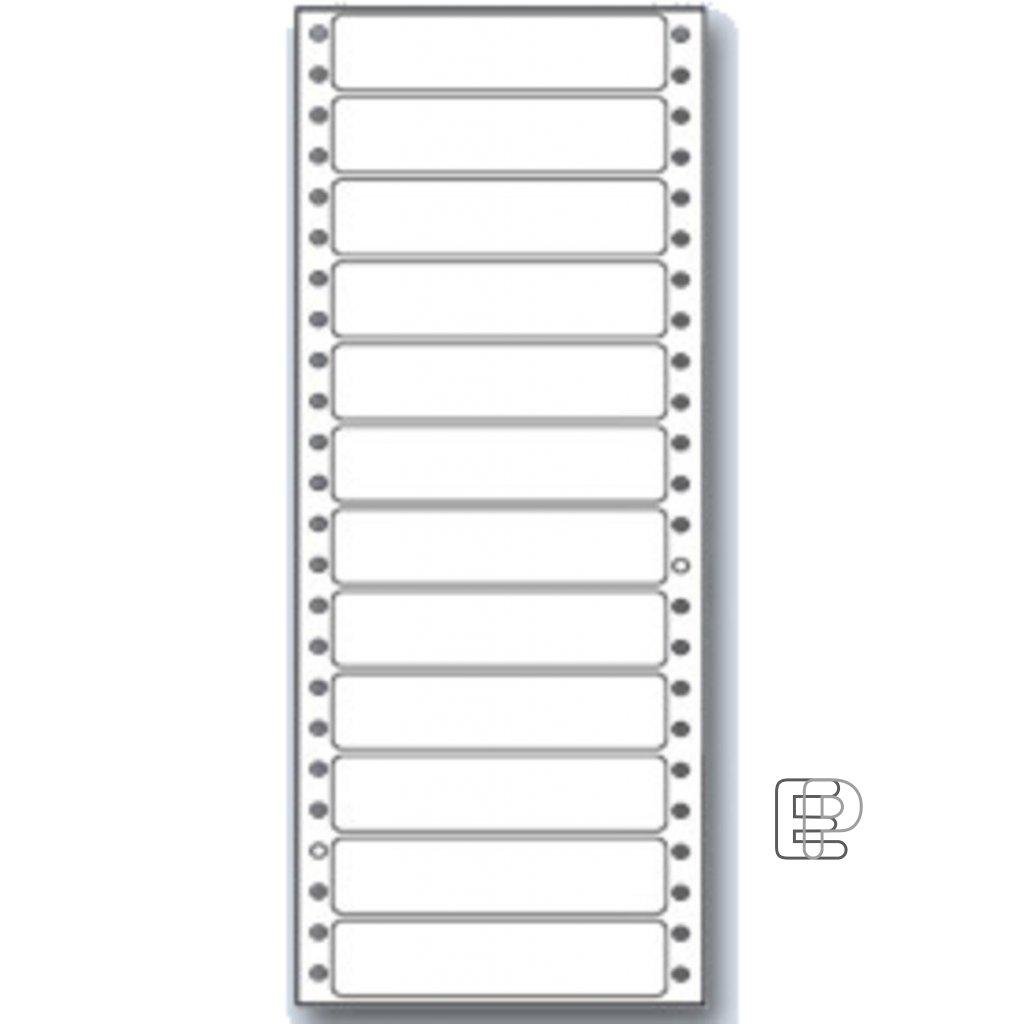SLE 89x23 1-řad MB 300 etiket