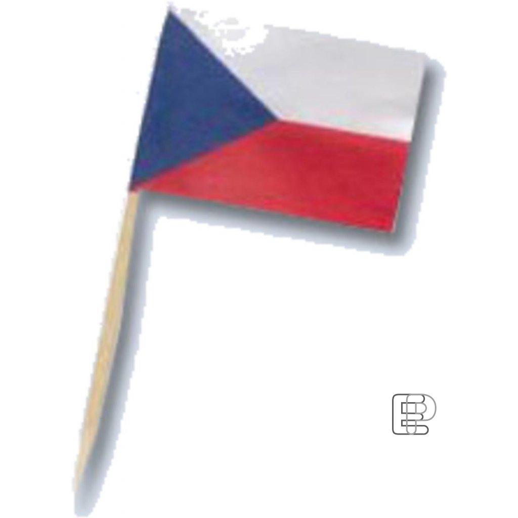 Vlaječky ČR 70mm 50ks  66570