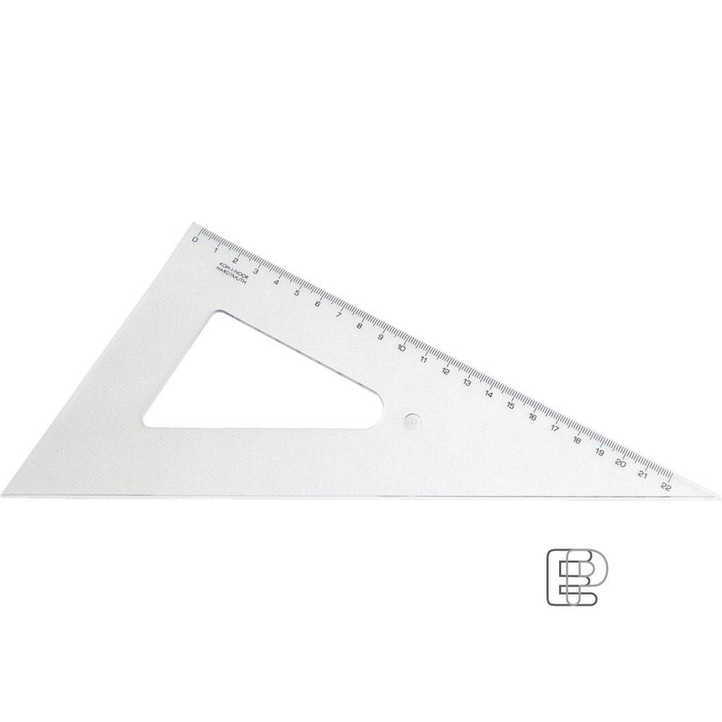 Trojúhelník 60/250 transparentní