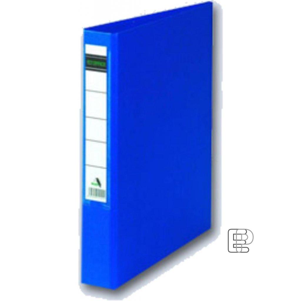 Pořadač 4-kr. PP modrý 45mm