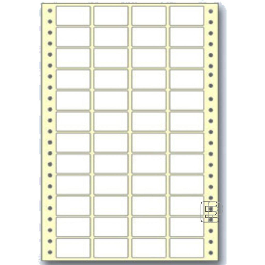 SLE 38x23 4-řadé 24000 etiket