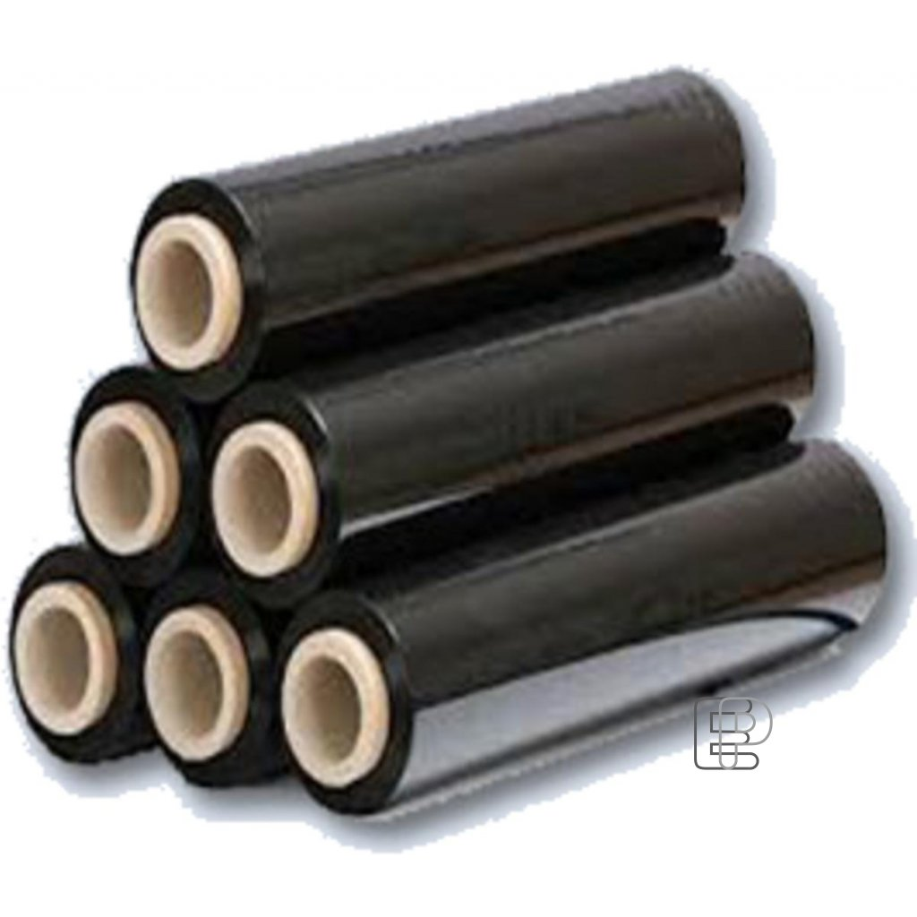 Folie fixační š.500mm černá 23mic