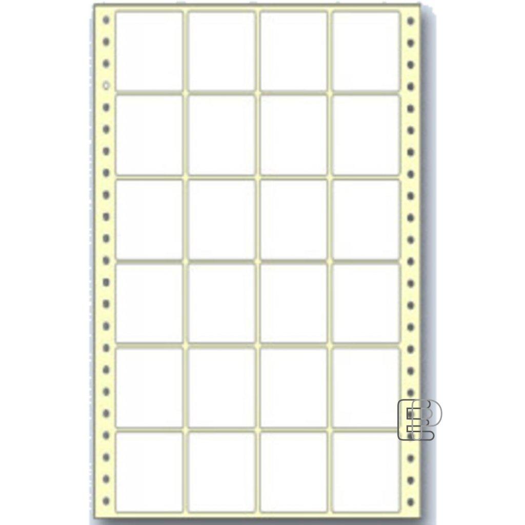 SLE 50x48 4-řadé 12000 etiket