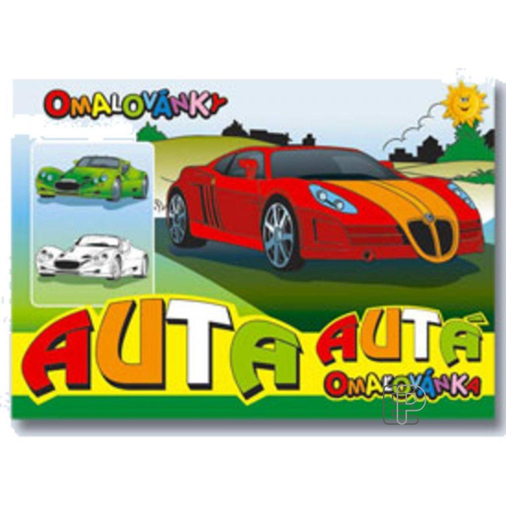 Omalovánky A5 Auta  5300266