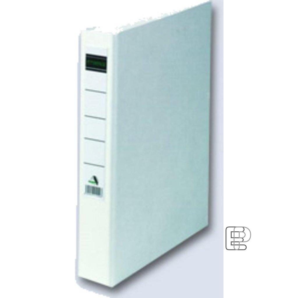 Pořadač 4-kr. PP bílý 45mm