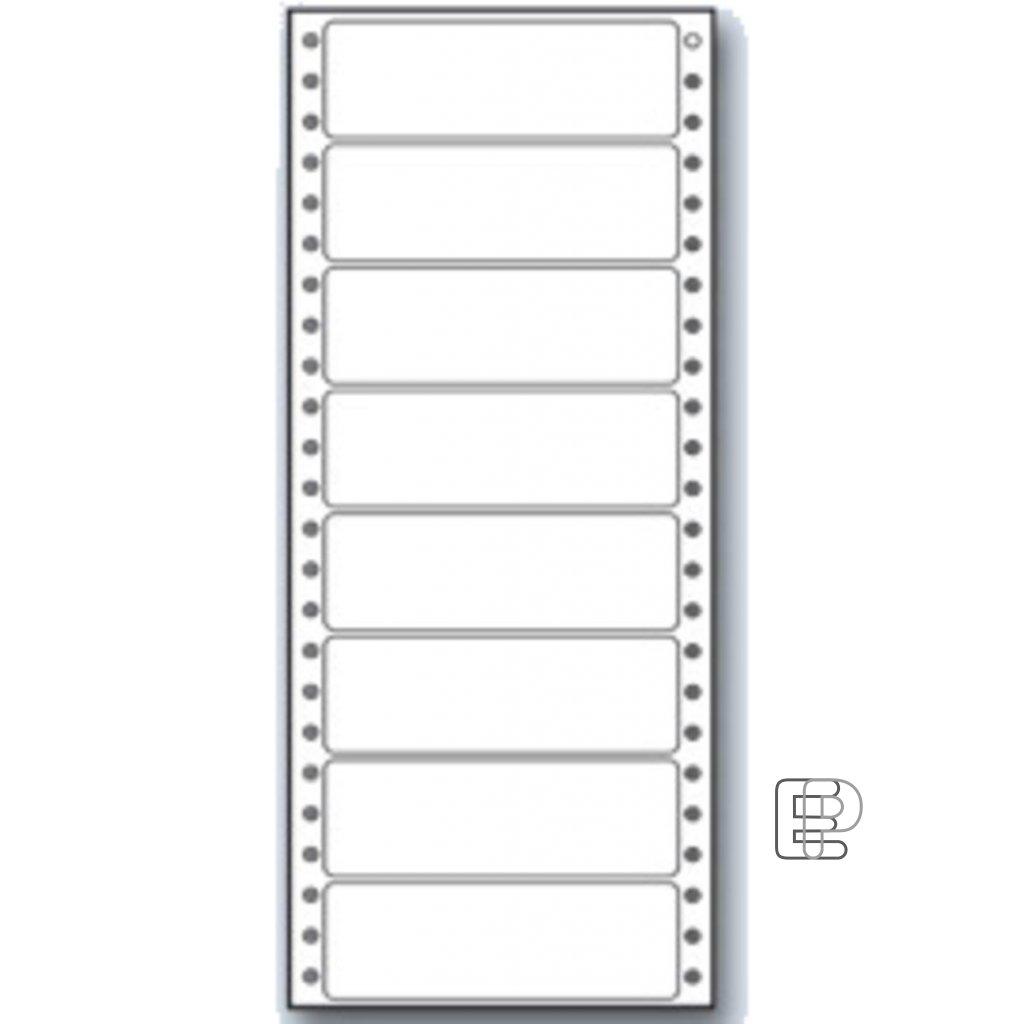SLE 100x36. 1 1-řadé MB 200 etiket
