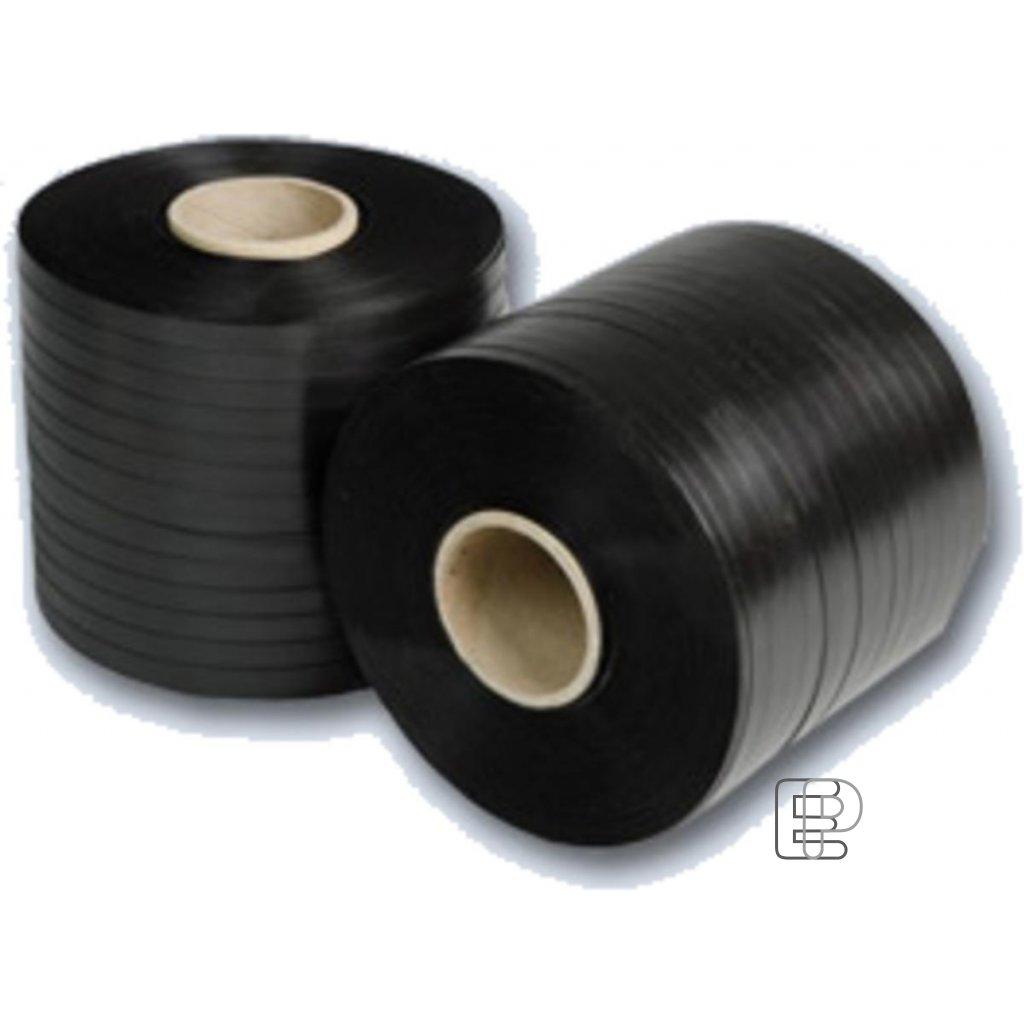 Vazací páska 10/0.35 /900m/60mm černá