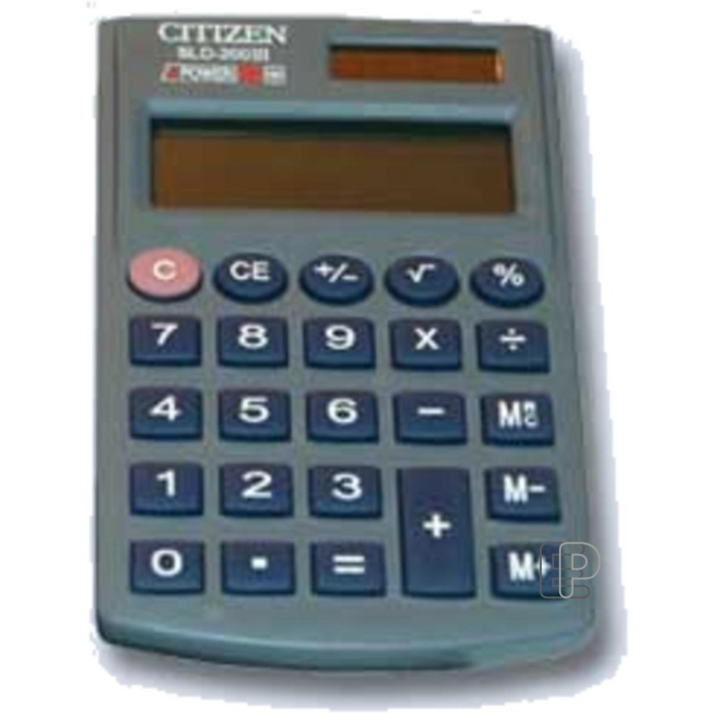 Kalkulačka Citizen SLD 200N 67x103mm