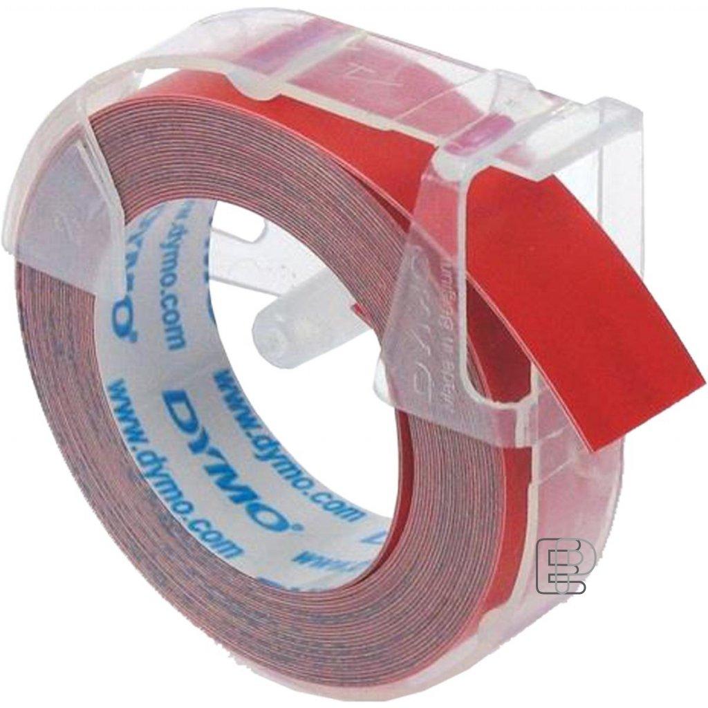 Dymo páska letratag 9mm červená 1ks