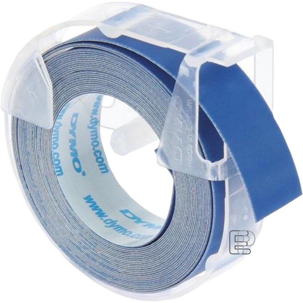 Dymo páska letratag 9mm modrá 1ks