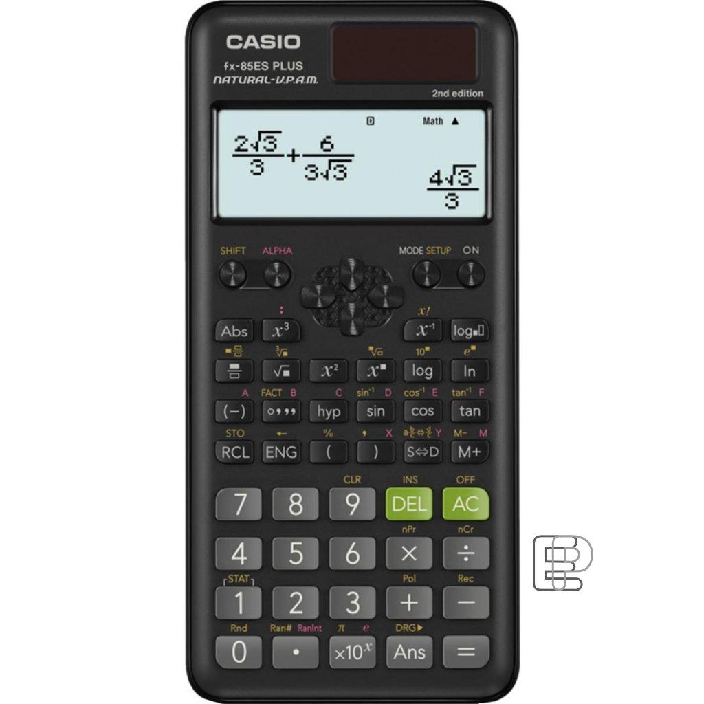 Kalkulačka Casio FX85 ES Plus 80x161mm