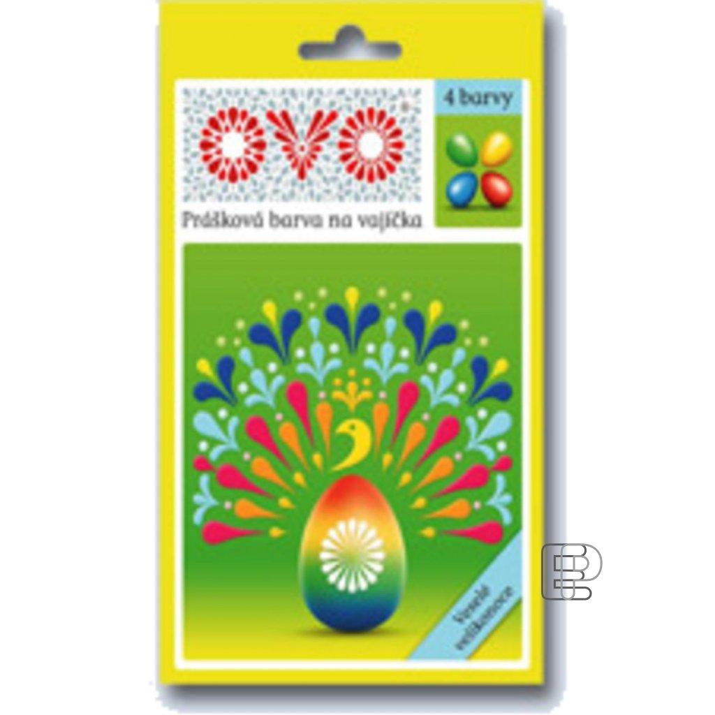 Velikonoční barva na vejce OVO 4barvy/5b