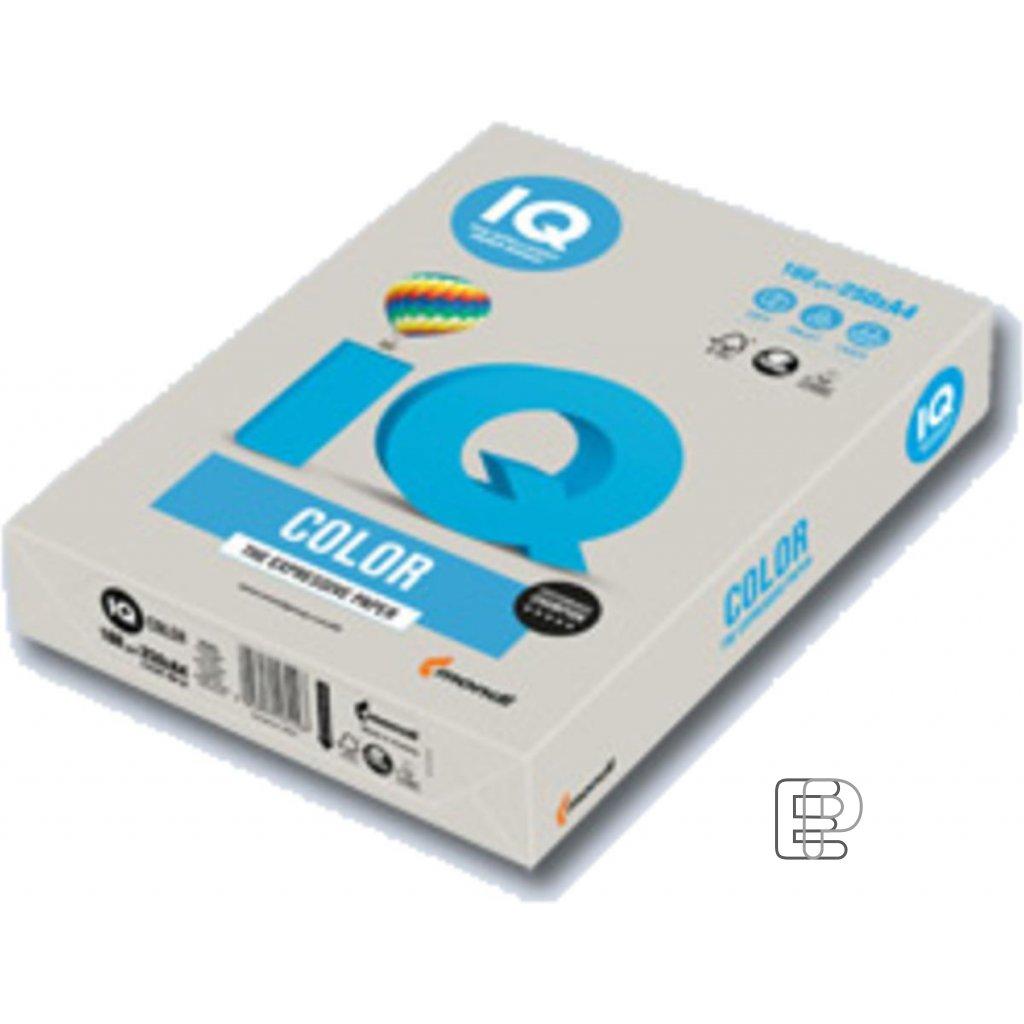 Karton A4 IQ šedý 160g 250 listů 21