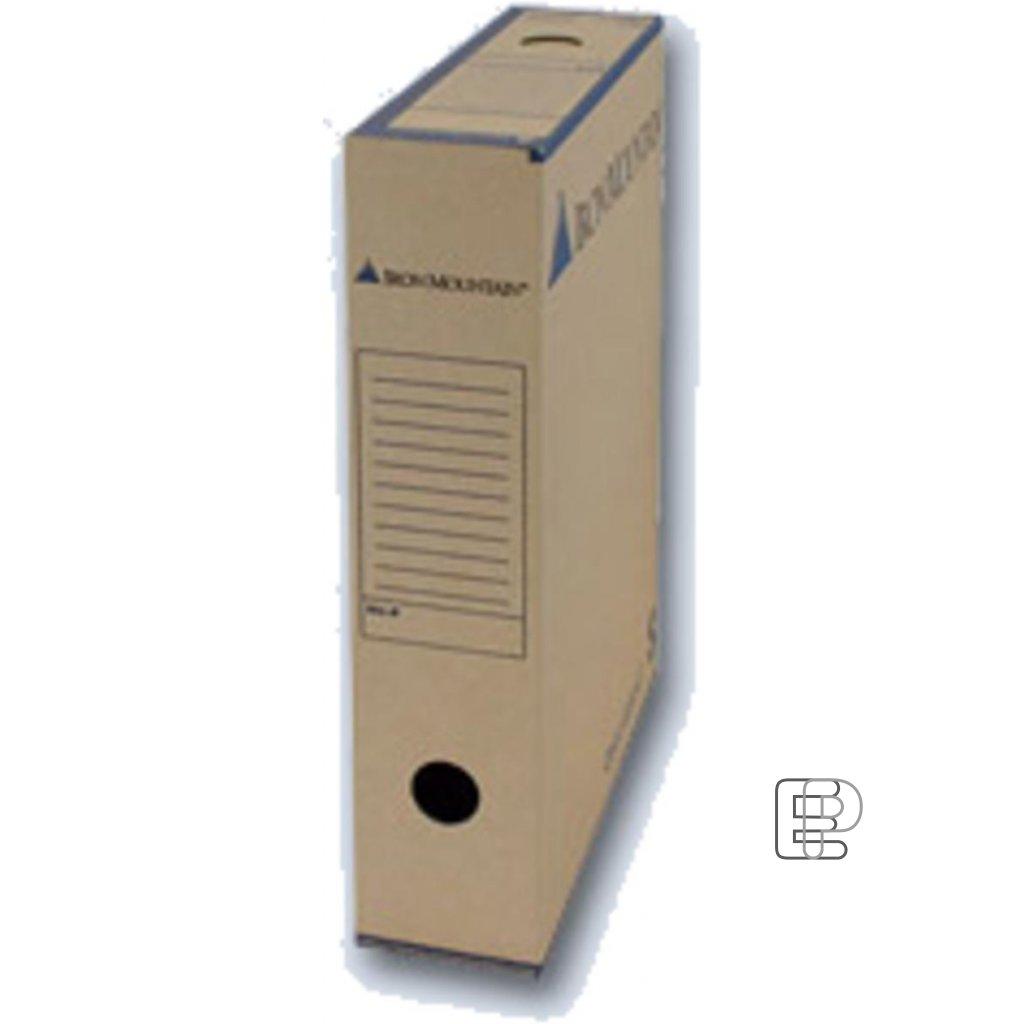 Archivní krabice 8cm DG/01S balení 50ks