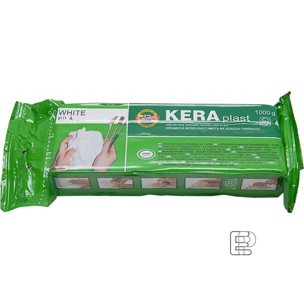 Modelovací hmota KERA 1kg bílá 131706
