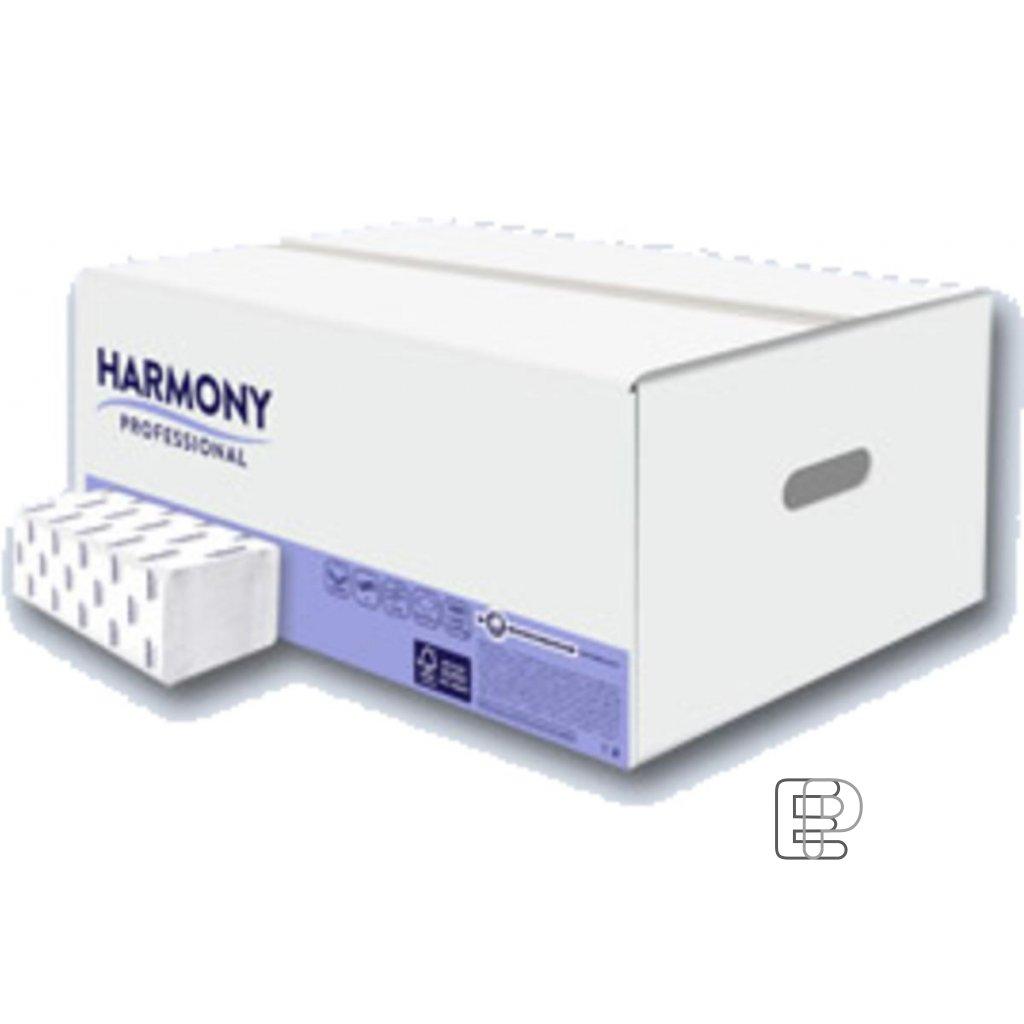 Papírový ručník ZZ 150 útržků 2-vr. bílý