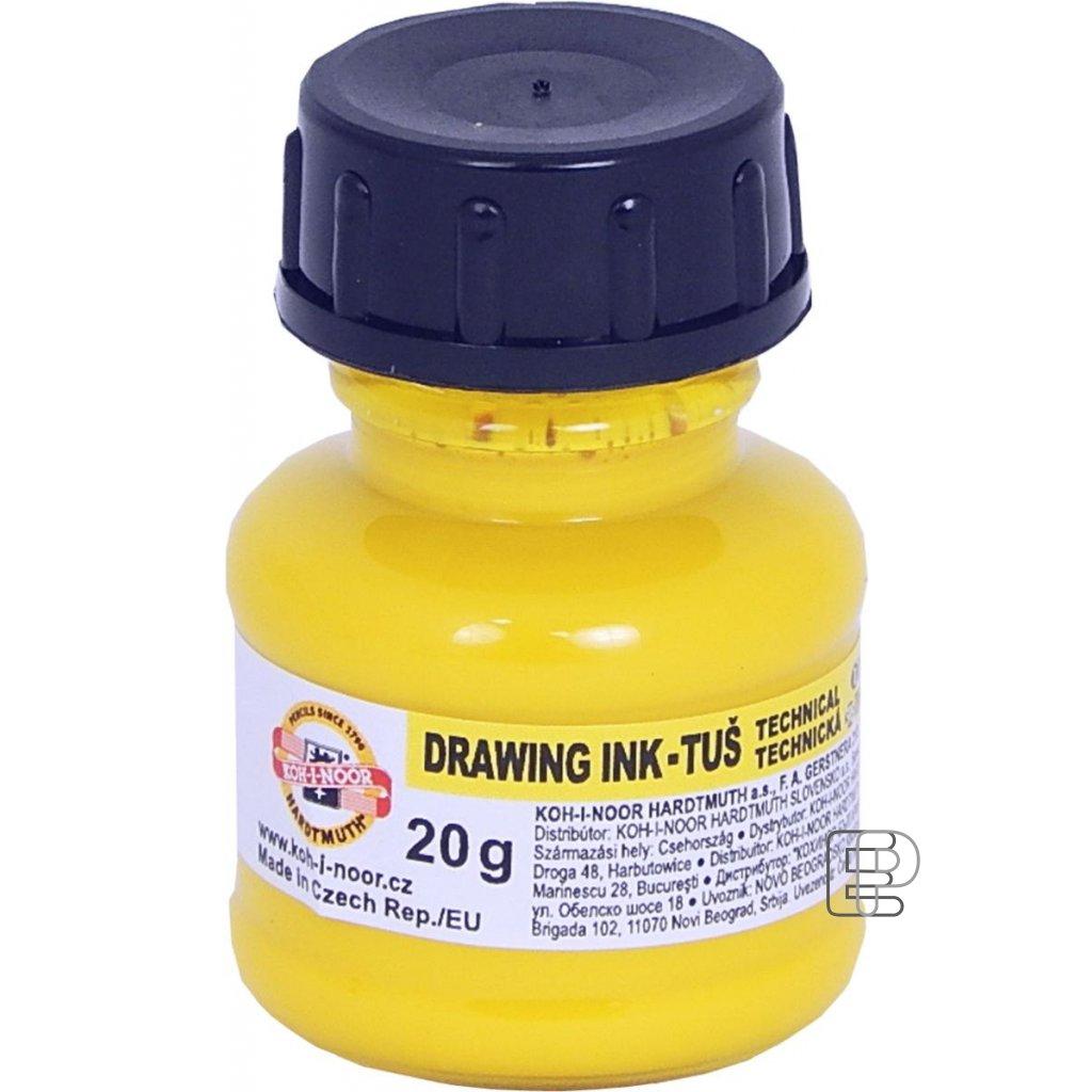 Tuš technická žlutá 20g