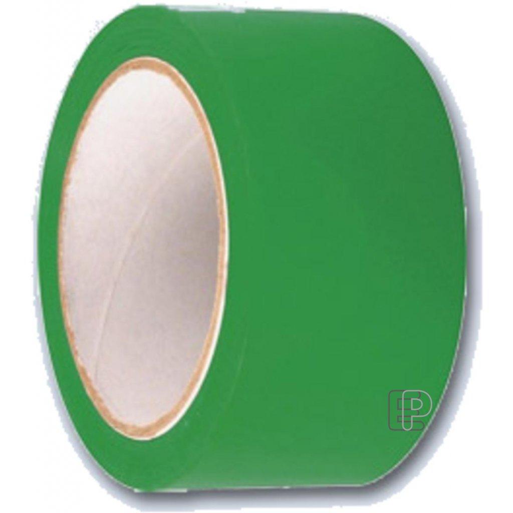 Lepící páska 50/60m zelená