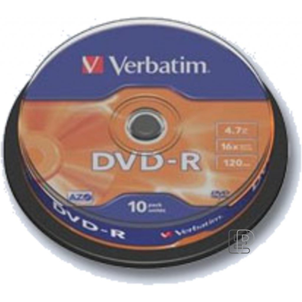 DVD-R Verbatim 4. 7GB K 10ks