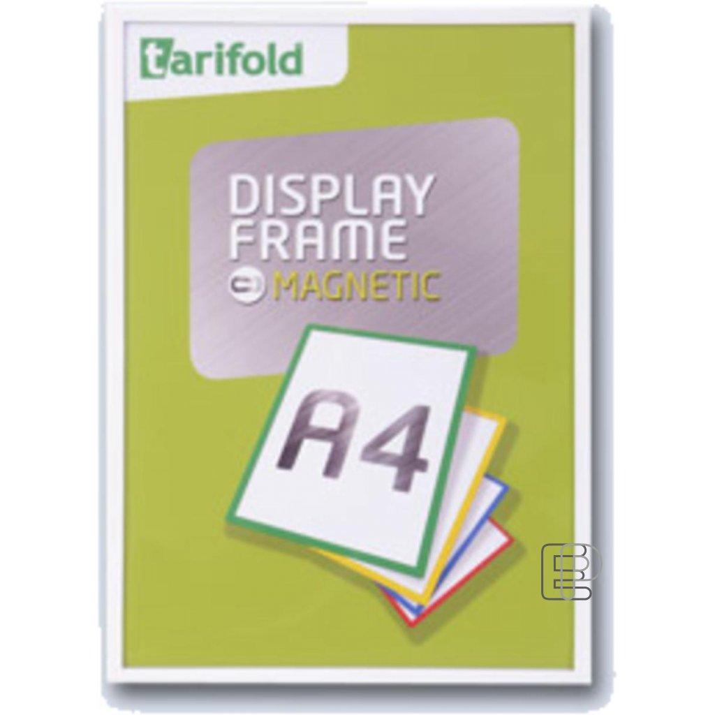Tarifold rámeček magnetický A4 bílý