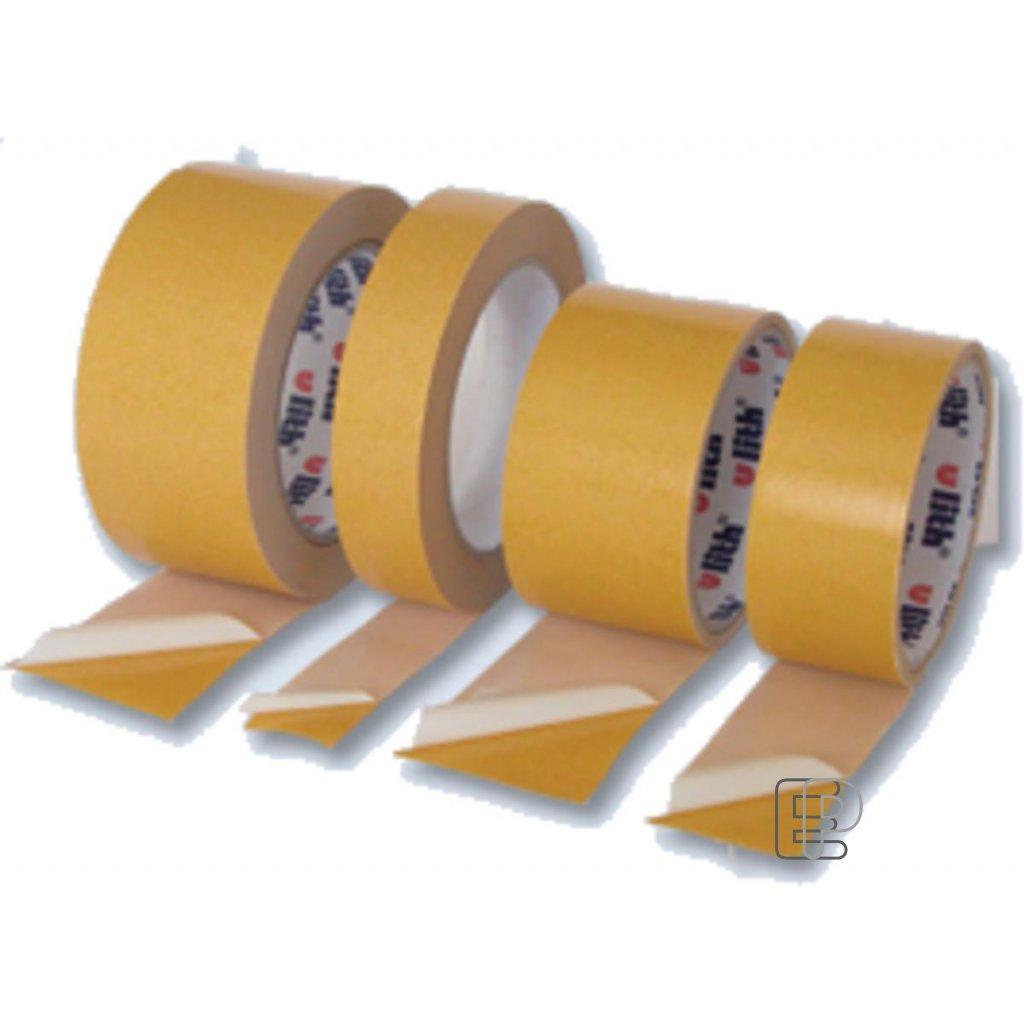 Lepící páska oboust.+textil vlákno 50/25