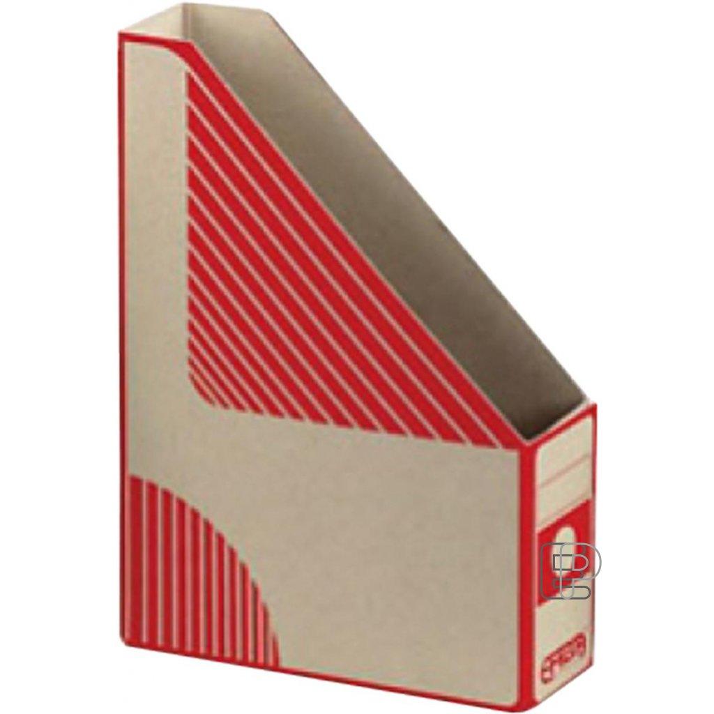 Arch. box Magazín A4 EMBA červený zkose75