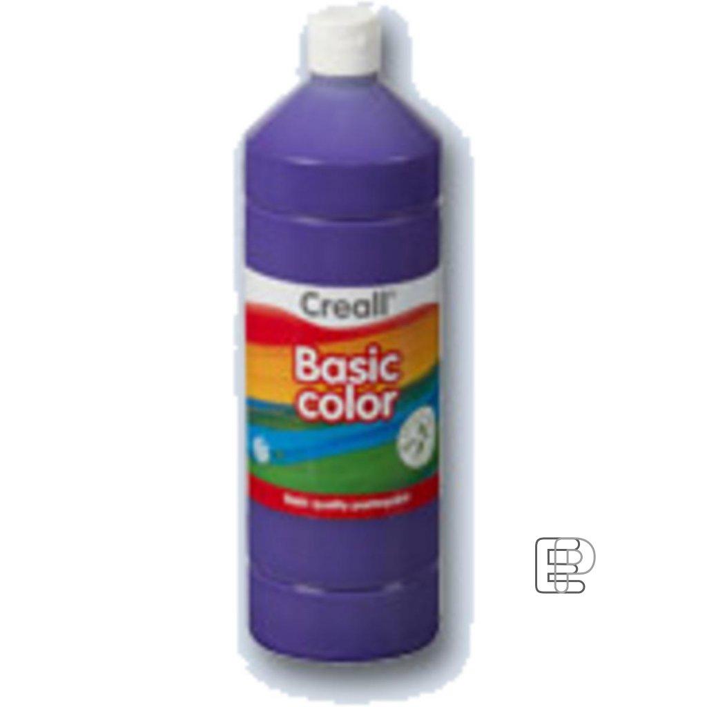 Tempera 1litr tmavě fialová Creall